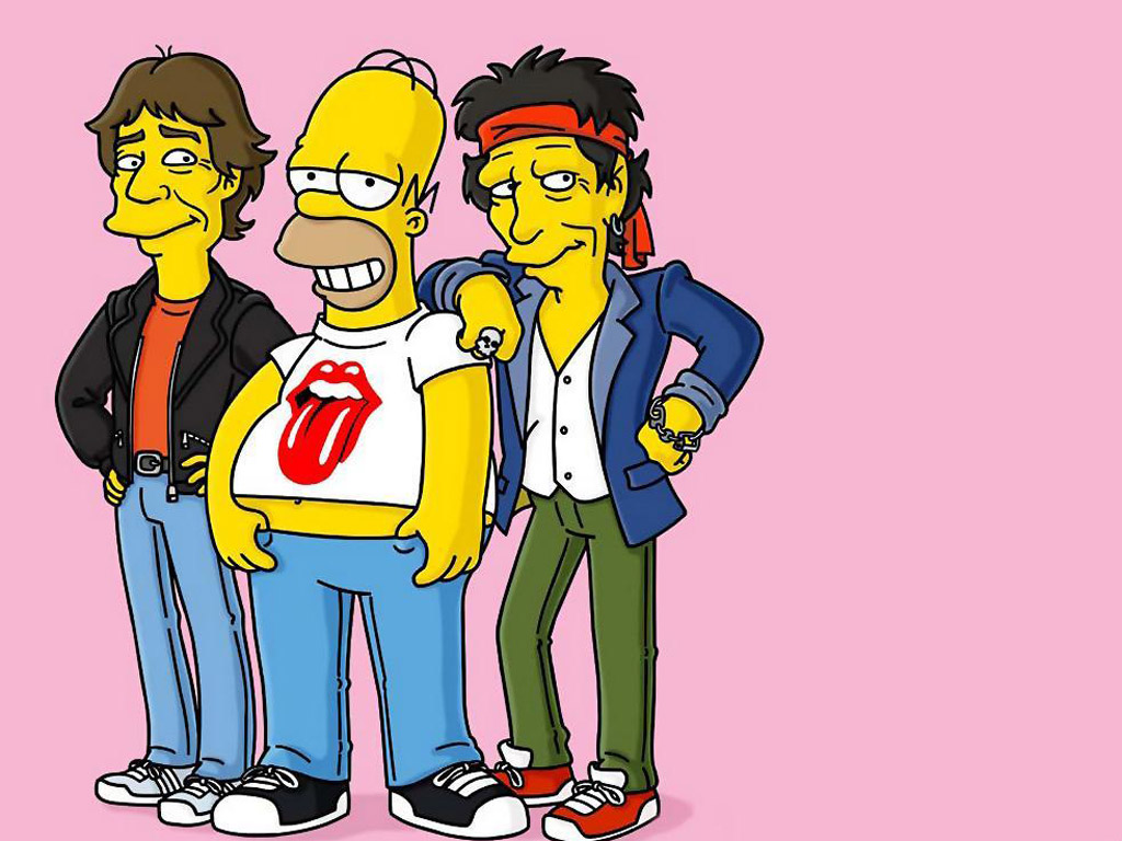66+ funny simpsons wallpapers on wallpaperplay.
