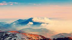 Beautiful Mountainscape Wallpaper 33204