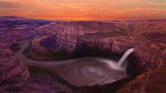 Beautiful Palouse Falls 30447
