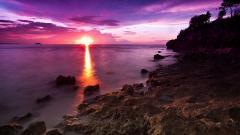 Beautiful Pink Sunset 30024