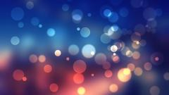 Blue Bokeh Wallpaper 23977