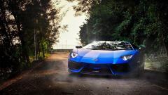 Blue Lamborghini 28166