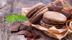 Chocolate Macaron Wallpaper 42296