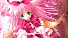 Cute Pink Anime Girl 19767