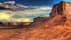 Fantastic Desert Landscape Wallpaper 37487