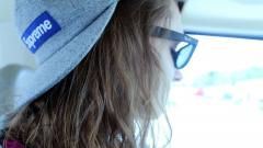 Girl Hat Wallpaper 43322