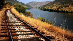 Gorgeous Train Track Wallpaper 37978