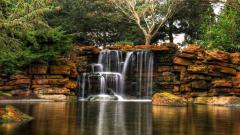 Lovely Waterfall Wallpaper 43311