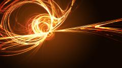 Orange Fractal Wallpaper 23173