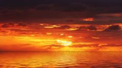 Orange Sunset 30005
