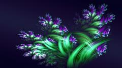 Purple Flowers 14058