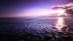 Purple Sunset Background 23189