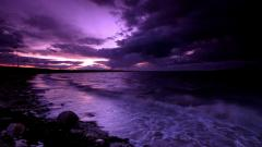Purple Sunset Wallpaper 23179