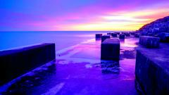 Purple Sunset Wallpaper 23192