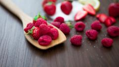 Raspberries Background 29080