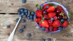 Raspberries Wallpaper 29071
