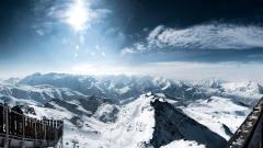 Snow Mountain Wallpaper 16539