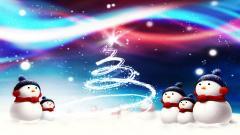 Snowman Wallpaper 4164