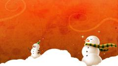 Snowman Wallpaper 4168