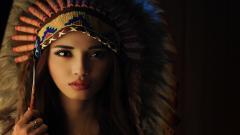 Stunning Girl Hat Wallpaper 43325