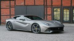 Stunning Grey Ferrari F12 Wallpaper 44213