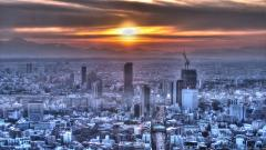 Tokyo Sunset 24390
