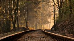 Train Track Background 37958