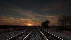 Train Track Wallpaper 37959