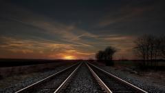 Train Track Wallpaper 37959
