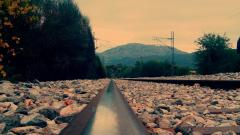 Train Track Wallpaper 37972
