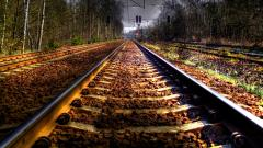 Train Track Wallpaper 37977