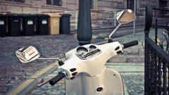 White Scooter Wallpaper 44227