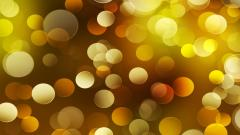 Yellow Bokeh 27754