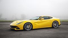 Yellow Ferrari F12 Wallpaper 44212