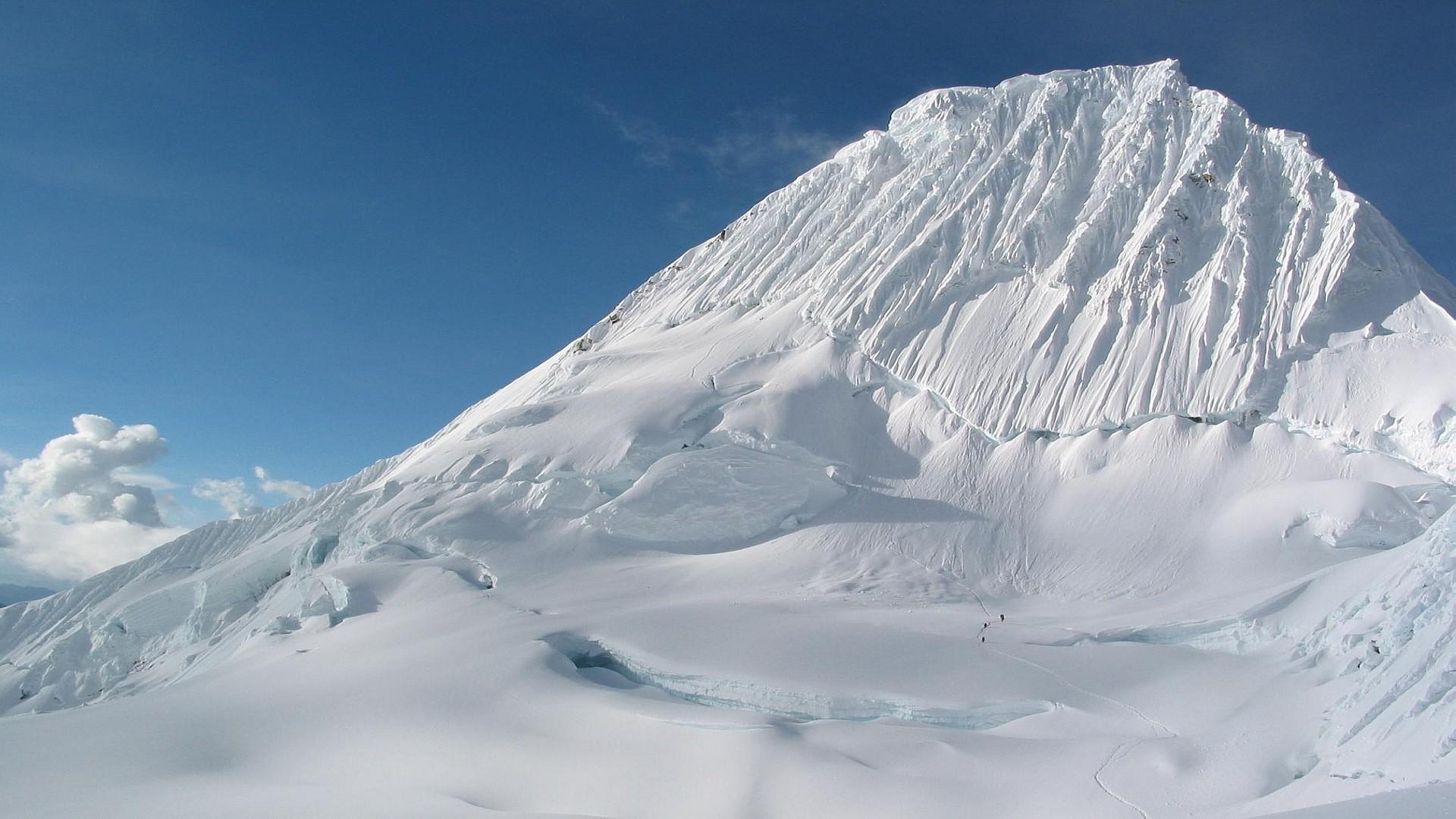 white mountain wallpaper 33765