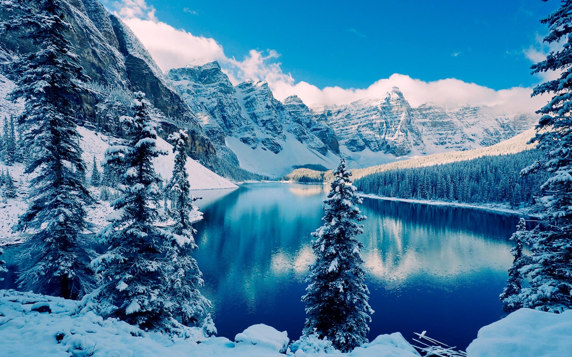 winter scenery 18722