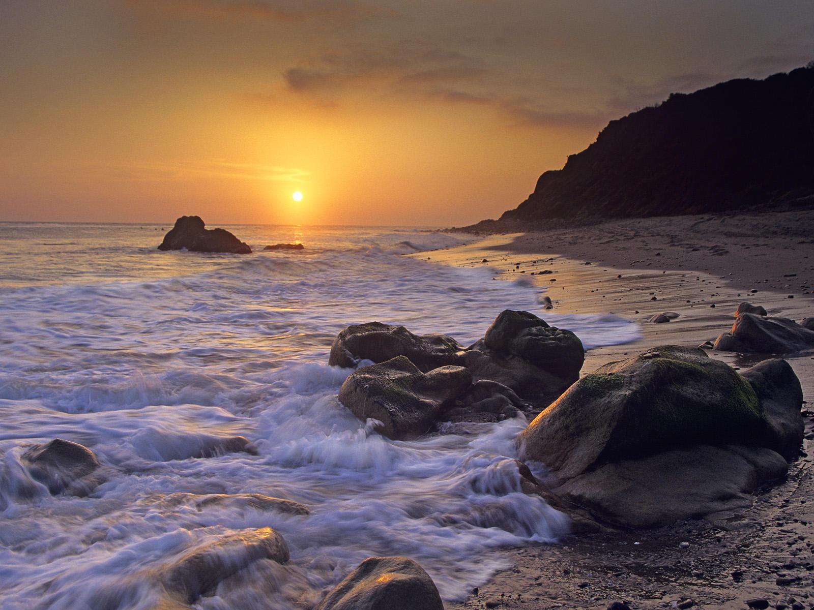 awesome california sunset 30153