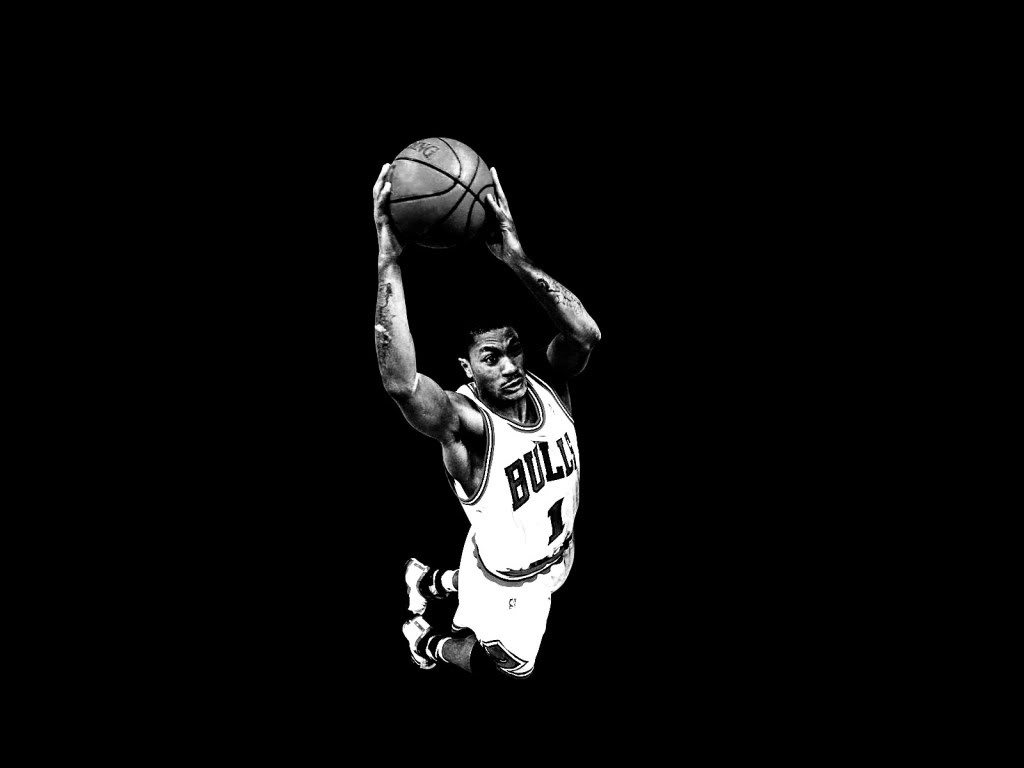 awesome derrick rose wallpaper 17067 1024x768 px