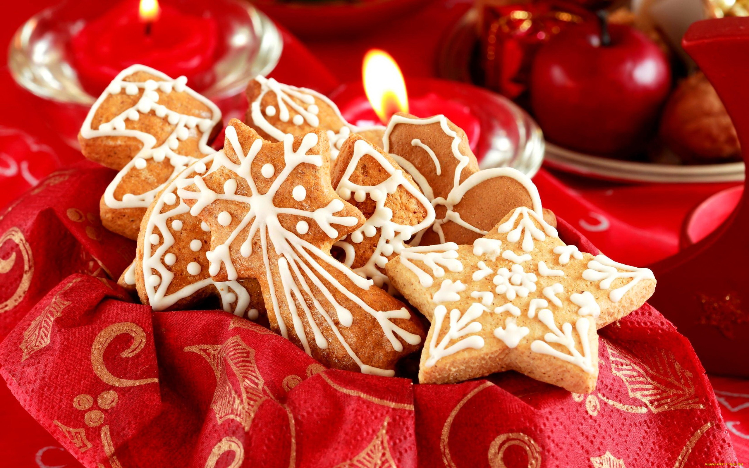 christmas cookies background 40507