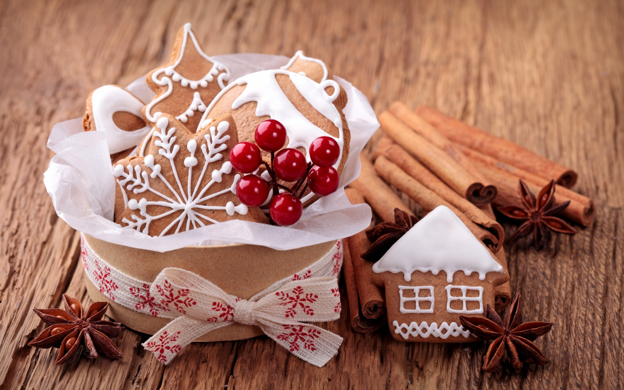 christmas cookies wallpaper 40511