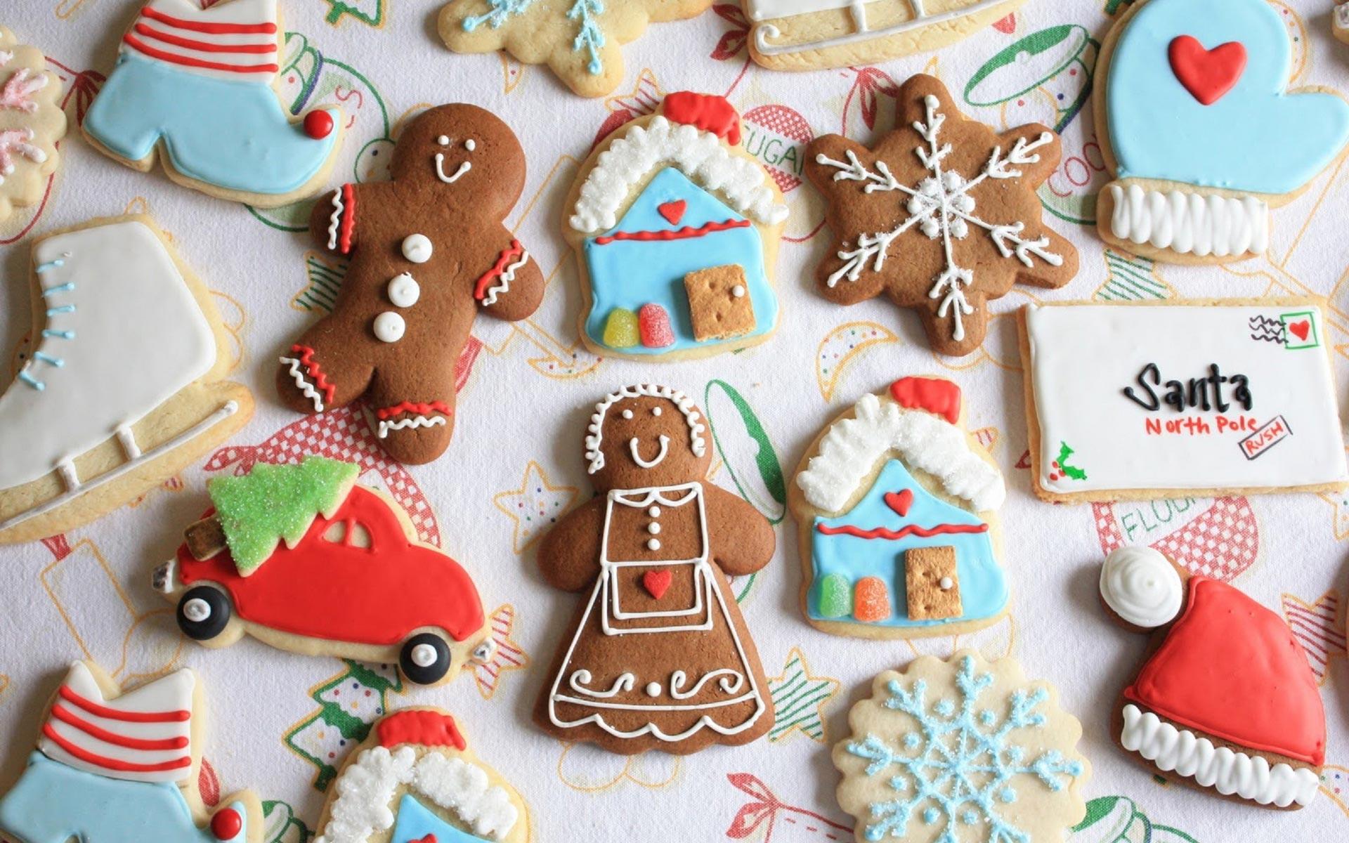 christmas cookies wallpaper 40513