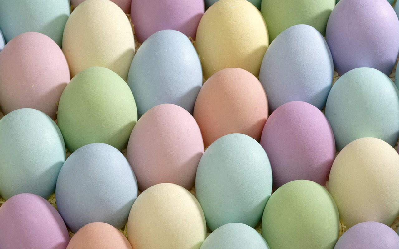 colorful eggs wallpaper 44337