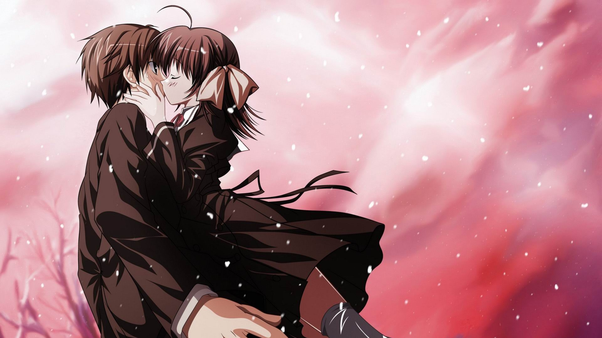Cute anime couples 27578 1920x1080 px hdwallsource cute anime couples 27578 voltagebd Image collections