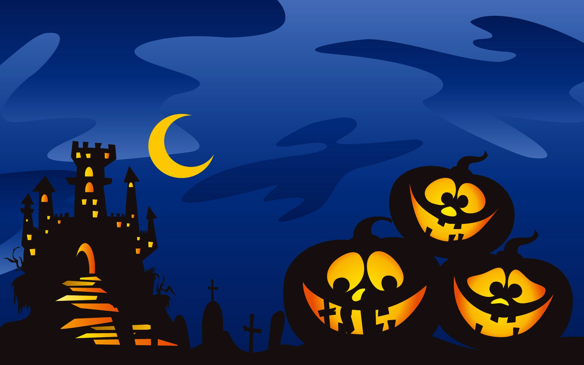 Download Cute Halloween Screensavers 21645 1920x1200 px ...