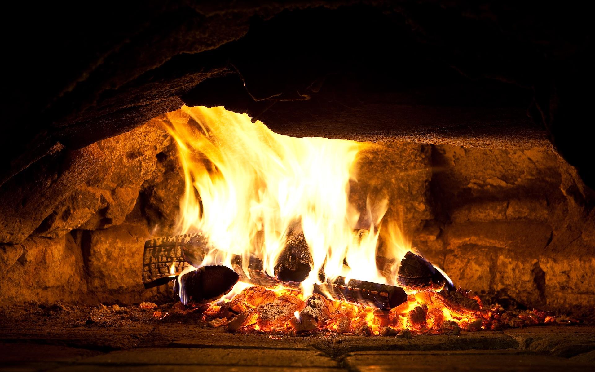 fireplace wallpaper 24631