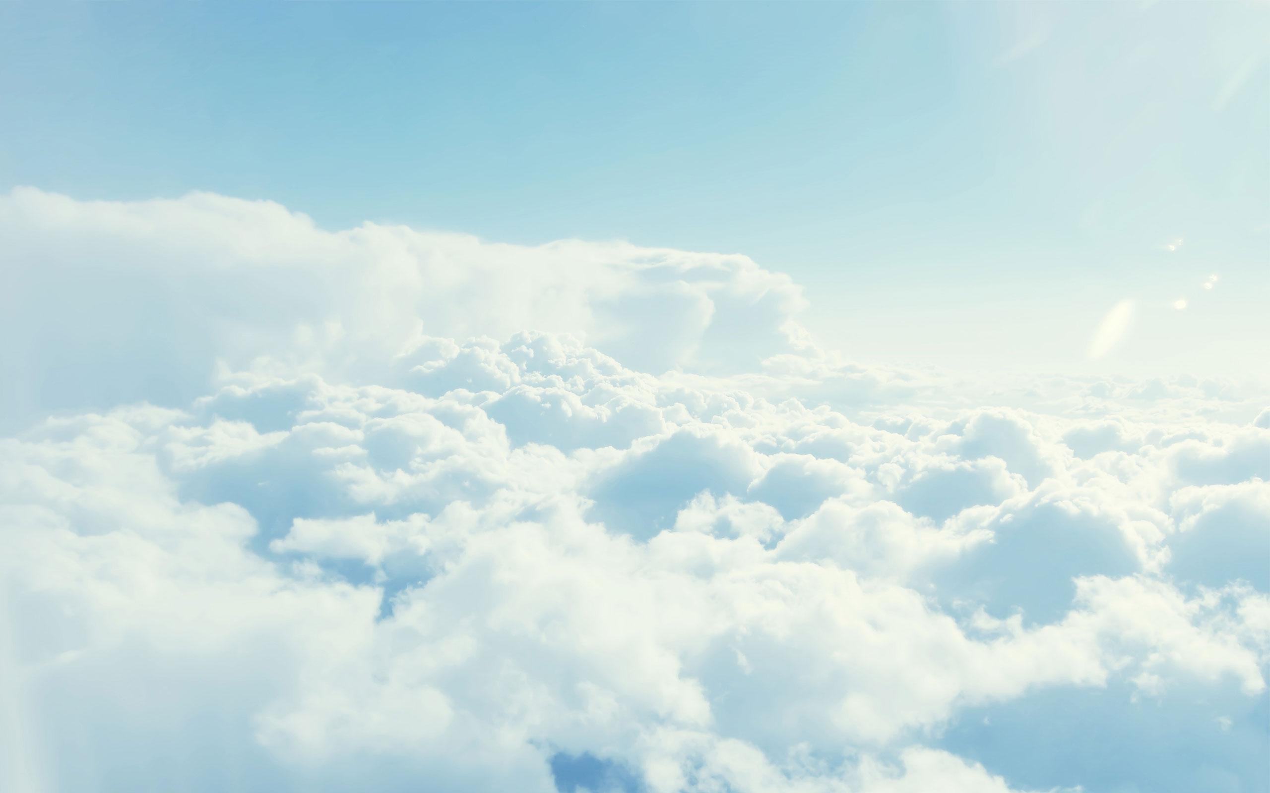 fluffy cloud wallpaper 34271