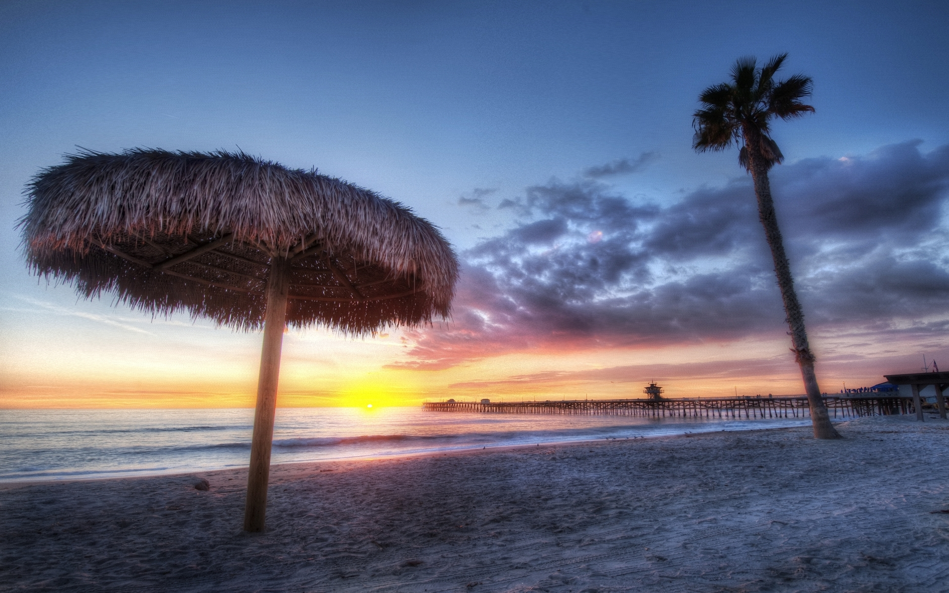 free california sunset wallpaper 30166