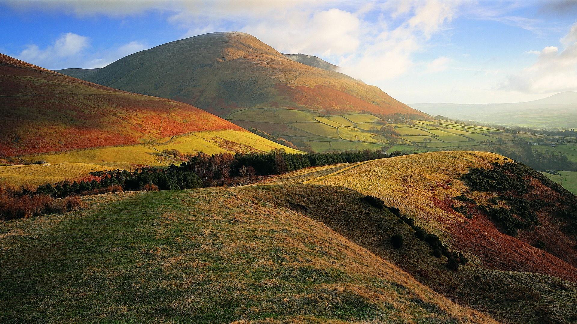 gorgeous hills wallpaper 39447