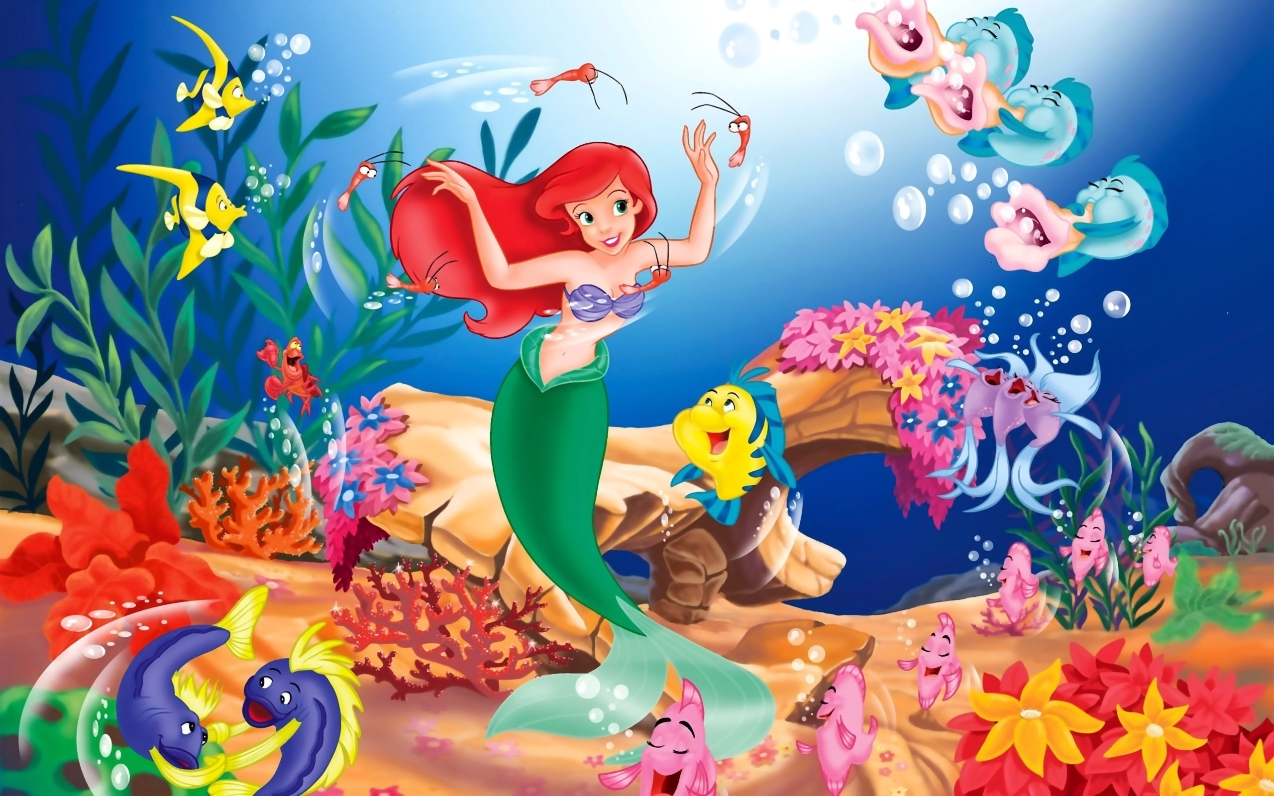 little mermaid wallpaper 15956