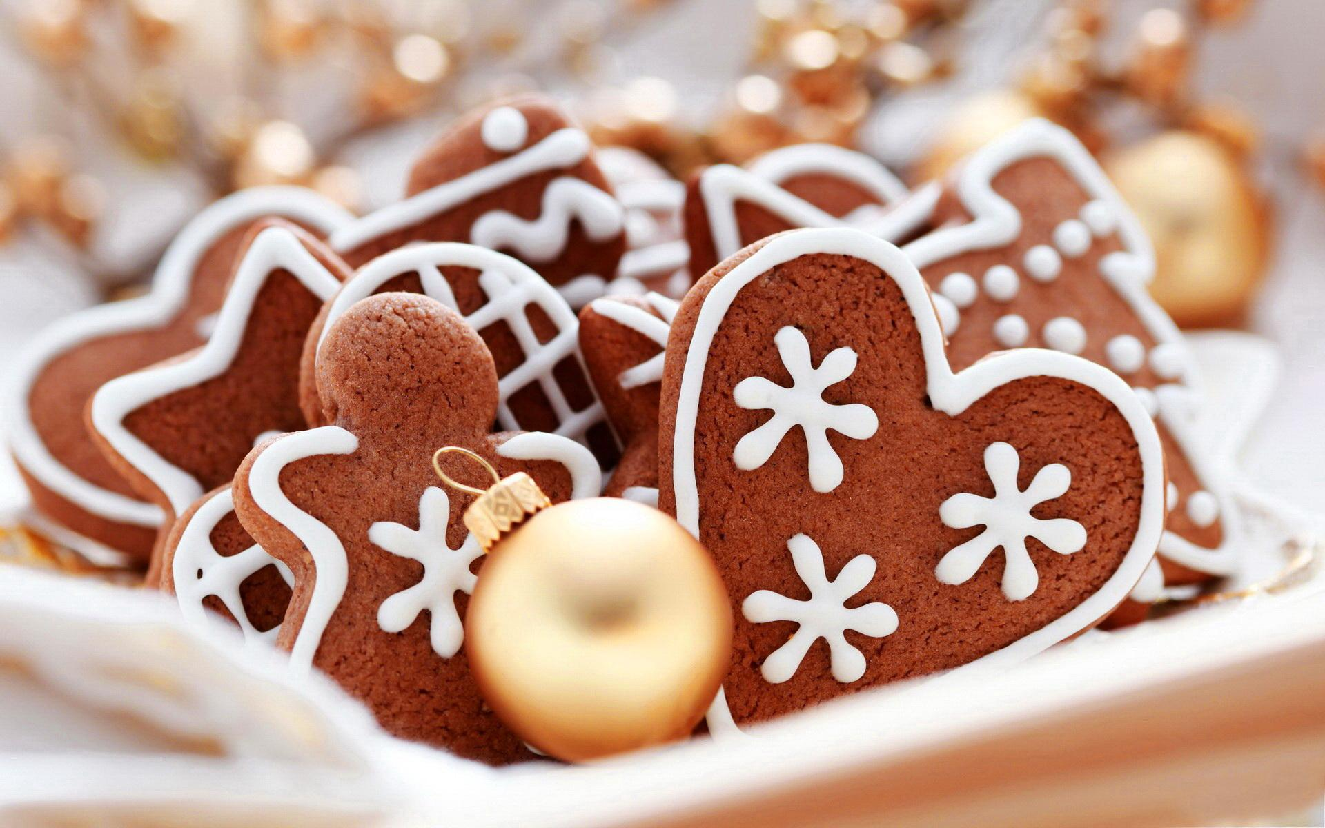 lovely christmas cookies wallpaper 40517